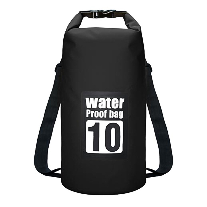 10L Floating Waterproof Dry Bag Pack Roll Top Sack Swimming Rafting Kayaking Drifting Backpack For Hiking Camping Beach Fishing