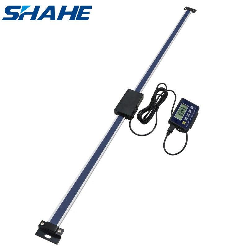 Новые магнитные дистанционные цифровые линейные весы shahe 1000 мм 0,01 мм с внешним дисплеем