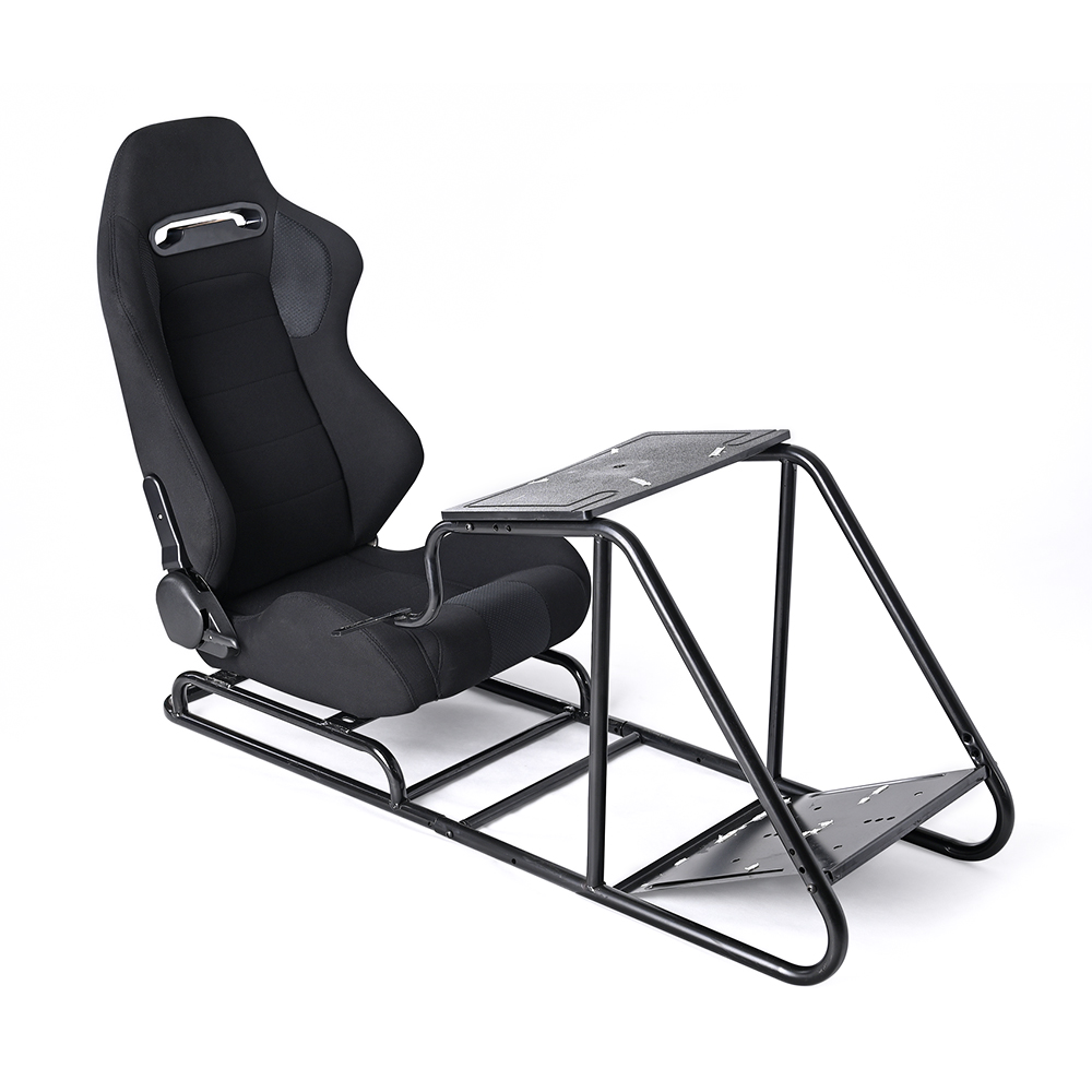 Game Gaming Racing Seat Steering+Pedal+Shift Mount Simulator Chair JBR1012