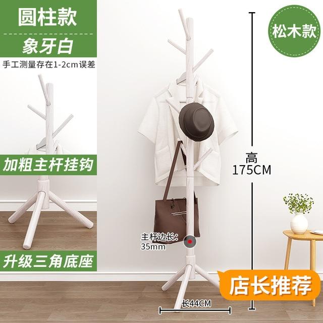 Solid Wood Coat Rack  3