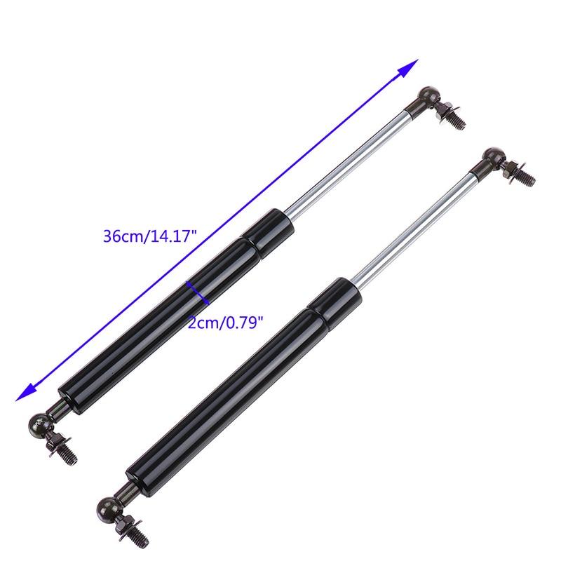 Mounting Metal Black 1 Pair Kit Accessories Tailgate Gas Struts Shock Damper For Nissan Navarra D23 NP300 14-18