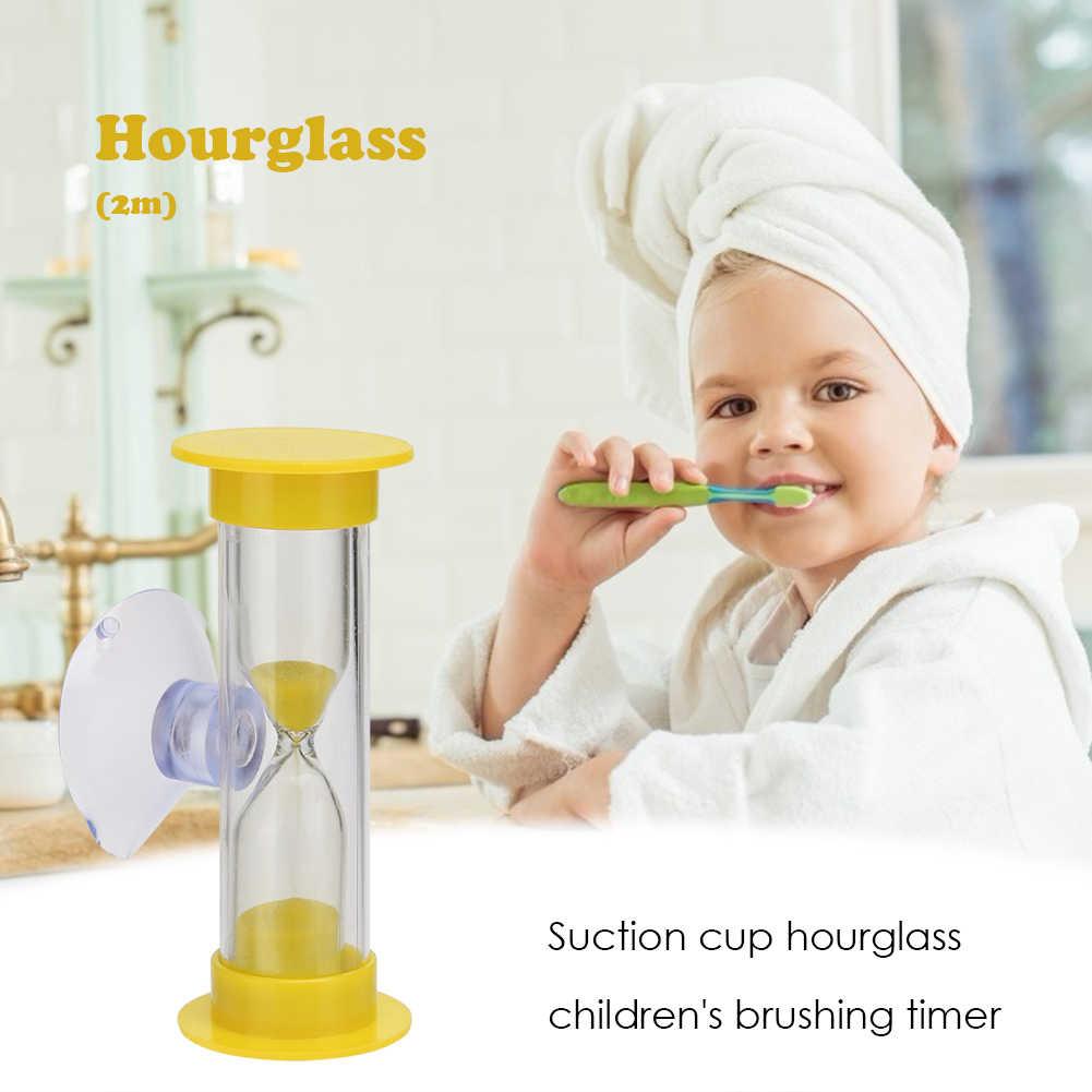 2Min 3Min Zandlopers Kinderen Tanden Borstelen Timer Met Zuignap Thuis Decoratie Craft Zandlopers