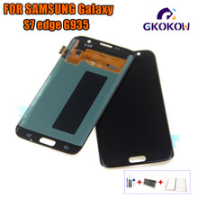 For SAMSUNG GALAXY S7 EDGE LCD S7 Edge G935 LCD Display Touch Screen Digitizer Assembly Replacement For Samsung S7 Edge(China)