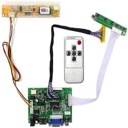HDMI + VGA Control Board Monitor Kit für LP154WX4 LP154WX2 B154EW02 LCD LED screen Controller Board Treiber