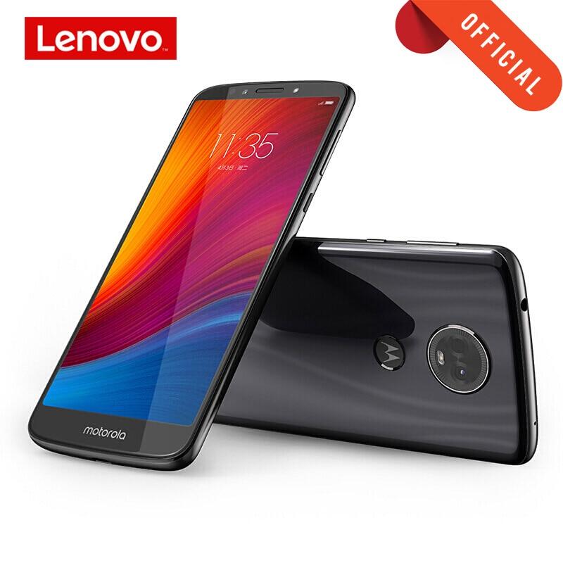 Global ROM Mobile Phone Moto E5 Plus 4GB 64GB Smartphone 6.0'' Full Screen Octa Core Cellphone 2.5D Glass Body 5000mAh Battery