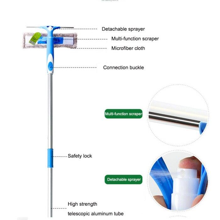 Оконное стекло очиститель Шайба модернизированная телескопическая
