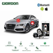 Car-Accessories Comfort-System App-Phone Remote-Start Universal PKE Keyless Entry Push