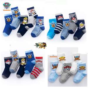 Socks Patrol Action-Figure Marshall Chase Birthday-Gift Winter Kids Children Cotton