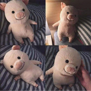 25cm Cartoon Cute Pig with Clothes Plush Toys Stuffed Kawaii Animal Doll Soft Baby Accompany Pillow for Kids Girls Birthday Gift