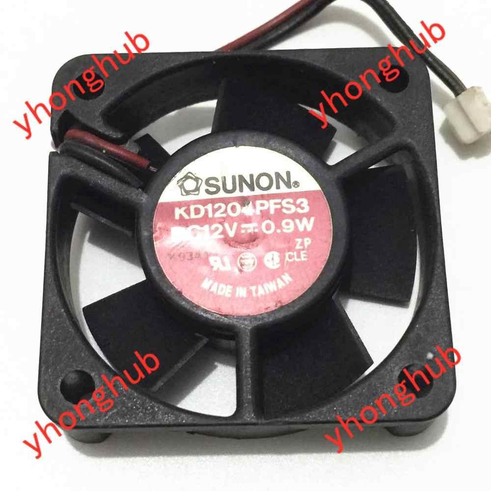 Вентилятор охлаждения сервера SUNON KD1204PFS3 ZP DC 12 В 0,9 Вт 40x40x10 мм
