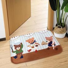 60x40 см, мультяшный нескользящий коврик для пола, коврик для кухни, ванной, коврик на полу, ковер для домашнего декора