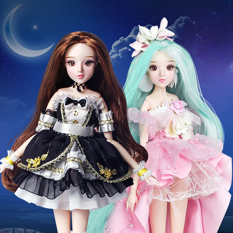 Dream Fairy 1/6 BJD 14 Joints 30cm Ball Jointed Dolls Twelve Constellations Series BJD Doll Full Set DIY Dolls for Girls