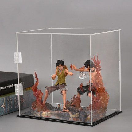 Clear Acrylic Display Case Show Box Self-Assembly Dustproof Model For Action Figures Doll Model