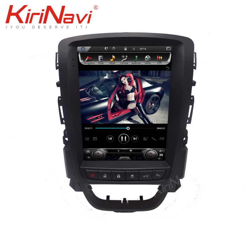 KiriNavi 縦画面テスラスタイル 10.4 ''アンドロイド 9.0 カーラジオオペルアストラ J のためのビュイック 2009-2015 車マルチメディア Dvd ナビゲーション