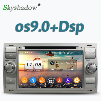 Car DVD Player DSP IPS Android 9.0 4GB RAM 8 Core GPS map RDS Radio wifi BT 5.0 For Ford FOCUS Mondeo S-MAX C-MAX Galaxy Fusion