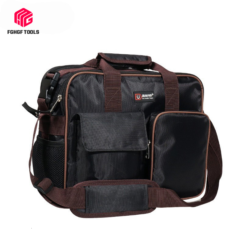 Portable Satchel Belt Tool Bag Organizer Spanner Hardware Pouch Electrician Repair Toolbox Storage Box Work Kitbag Big Toolkit