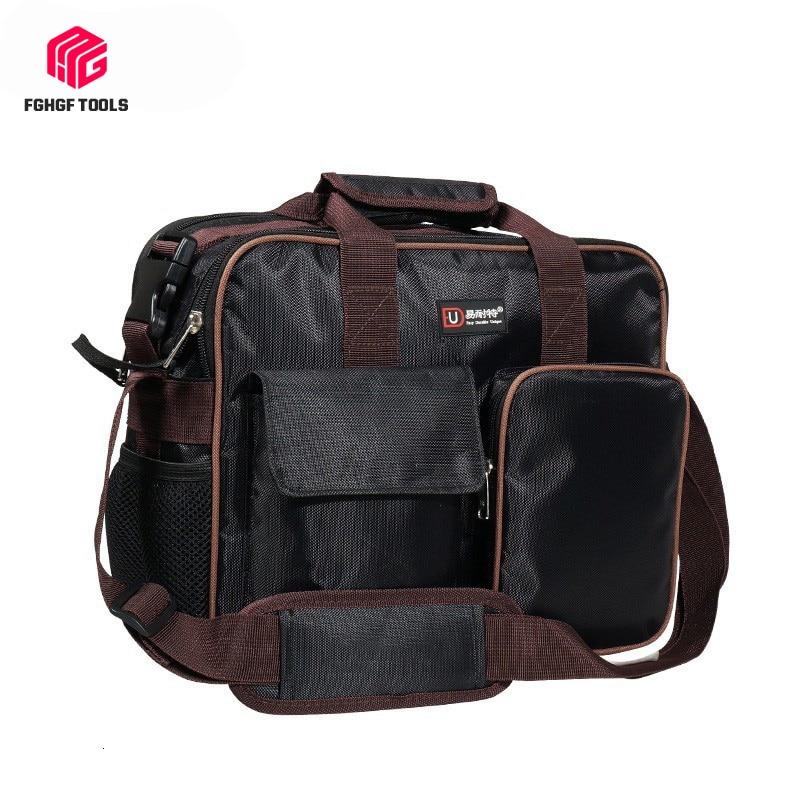 Portable Satchel Belt Tool Bag Organizer Spanner Hardware Pouch Electrician Repair Toolbox Storage Box Work Kitbag Big Toolkit
