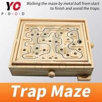 YOPOOD tuzak labirent kaçış odası yürüyüş labirent metal topu başlayan oda oyun kilidi