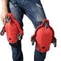 Proteção flexível móvel do deslizamento das rodas de rolamento das almofadas de joelho de 1 pces para o local de trabalho vdx99 da construção do trabalho