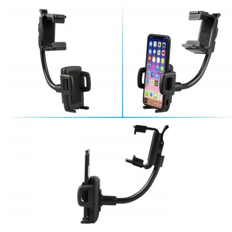 New Auto Car Rearview Mirror Mount Stand Holder Stand Cradle For Cell Phone GPS