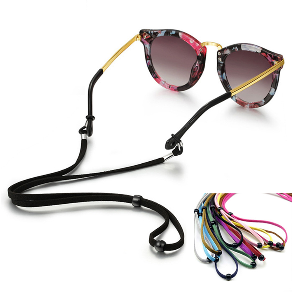 New Non-Slip Sunglasses Chain Sport Glasses Cord Eyeglasses Eyewear Rope Adjustable Neck Strap String Rope Band Accessory