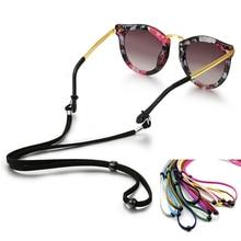 New Non-Slip Sunglasses Chain Sport Glasses Cord Eyeglasses Eyewear Rope Adjustable Neck Strap String Rope Band Accessory