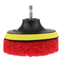Polishing Plate Drill Adapter Electric Scrubber Cleaning Cleaner Floors Showers