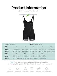 Image 5 - Aiconl Women Body Shaper Waist trainer Bodysuit Latex Shapewear Butt Lifter Tummy Control Waist Shaping Slimming Underwear