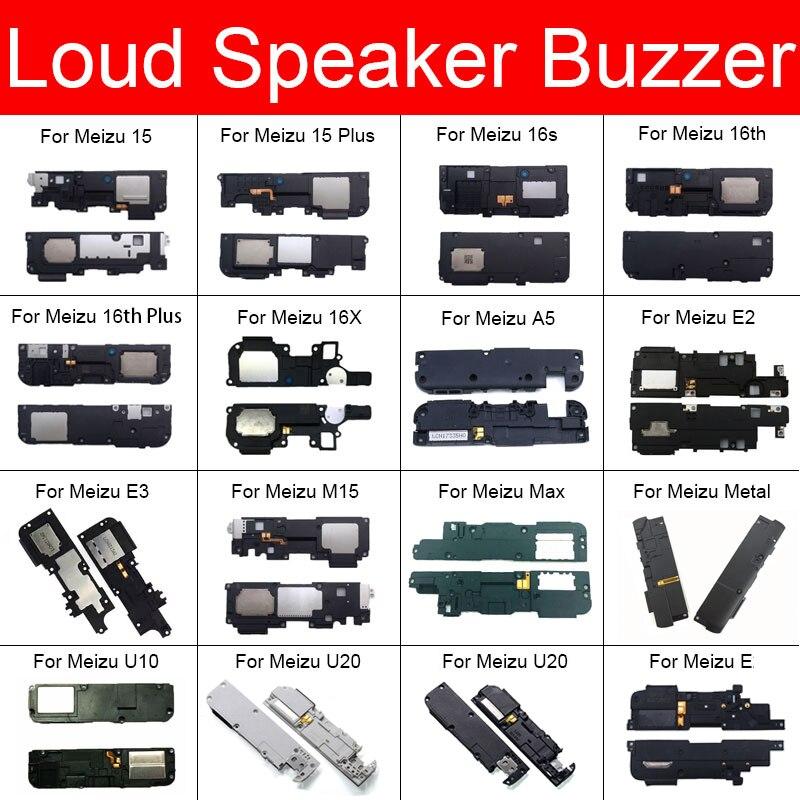 Louder Speaker Module For Meizu E E2 E3 A5 15 M15 16S 16th 16X Metal U10 U20 Plus Max Buzzer Ringer Flex Cable Replacement