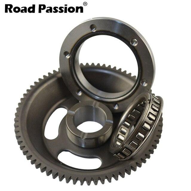 แผนที่Passionรถจักรยานยนต์Overrunning/One Way/Start Upชุดคลัทช์สำหรับYamaha TTR250 (TT R250) 1999 2006 TT250R Raid 1993 2004
