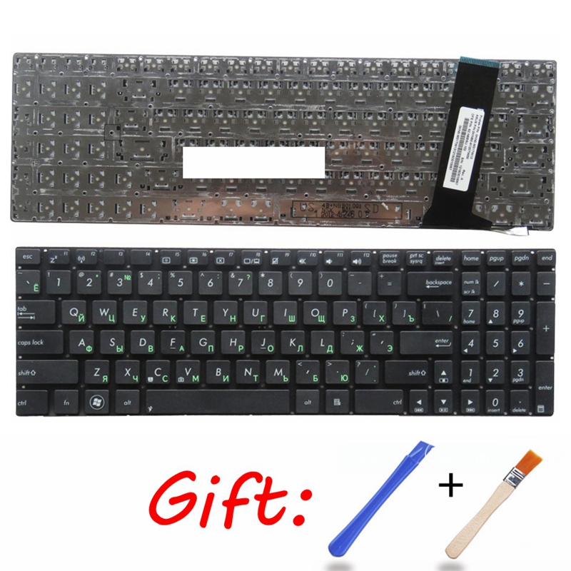 RU For ASUS N56 N56V N76 N76V N76VB N76VJ N76VM N76VZ U500VZ N56VV N56VZ U500VZ U500 U500V Laptop Keyboard Russian Black New