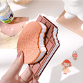 Kawaii Chocolate Memo Pad Cute Stationery Convenient NotebookPost It Office school supplies office accessories Child gift
