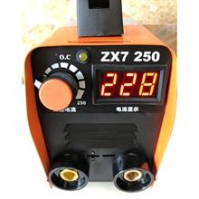 Бесплатно с изолированным затвором(IGBT) 20-250A 110/220V IGBT инвертор Электрический сварочный аппарат MMA/аппарат для дуговой сварки для сварки рабочей и электрические рабочие