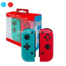 무선 블루투스 프로 게임 컨트롤러 닌텐도 스위치 조이 콘 콘솔 스위치 게임 패드 조이스틱 버튼 캡