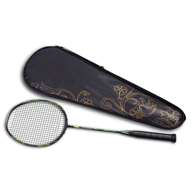 Super Lightweight 6U Badminton Racket Professional Carbon Padel With String For Amateur Intermediate Free Bag Cover Gifts