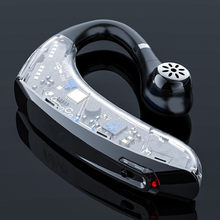 Najnowszy bezprzewodowy zestaw słuchawkowy Bluetooth słuchawki Stereo HD z mikrofonem sterowanie głosem słuchawka zestawu głosnomówiącego słuchawki do telefonu