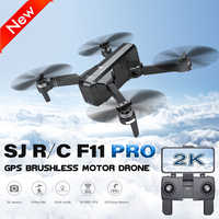 F11 PRO SJRC Drone professionnel GPS sans brosse Dron 2K caméra Quadrocopter suivre les Drones avec caméra HD VS FIMI X8