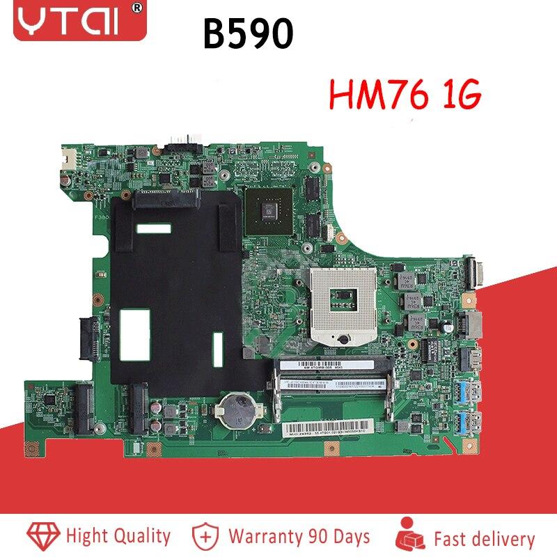 48.4TE05.011 B590 マザーボード FRU: 90003415 レノボ B590 ノートパソコンのマザーボード GT610M HM76 USB3.0 メインボード 100% テスト  グループ上の パソコン & オフィス からの マザーボード の中 1