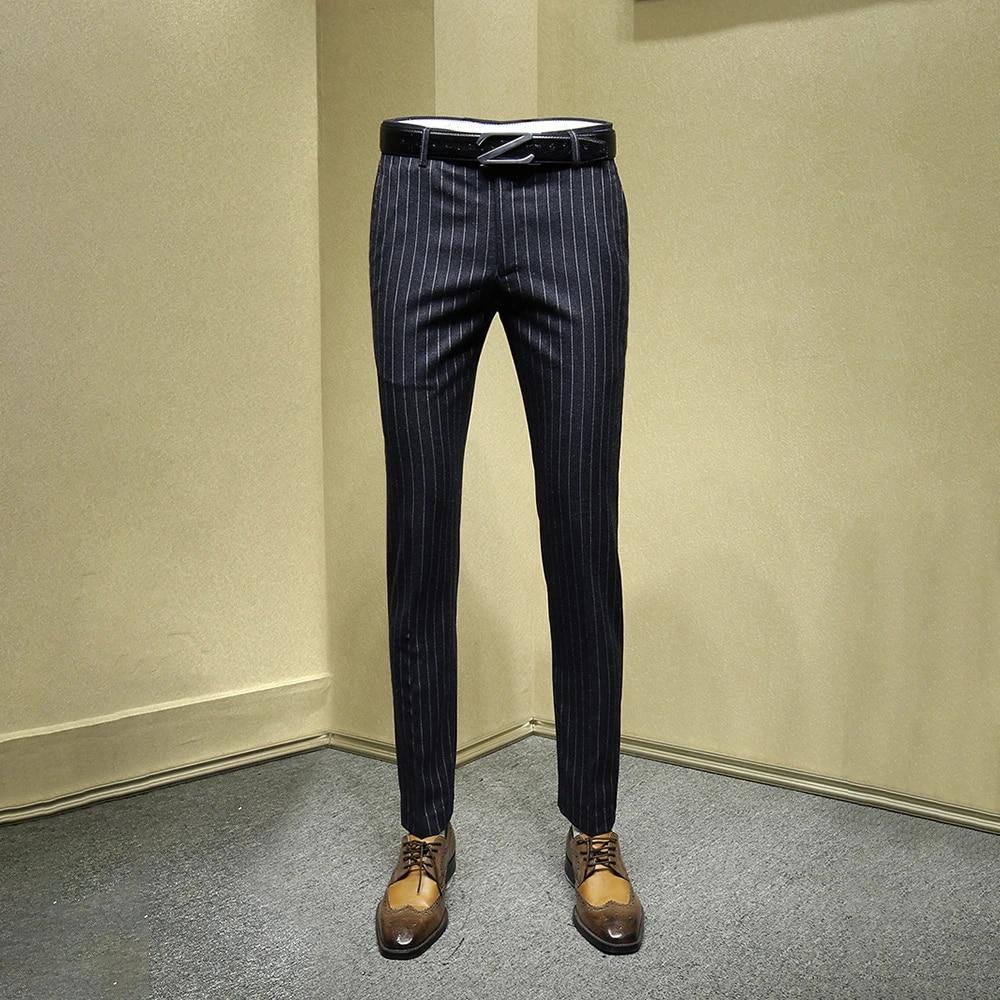 Mens Dress Pants Black