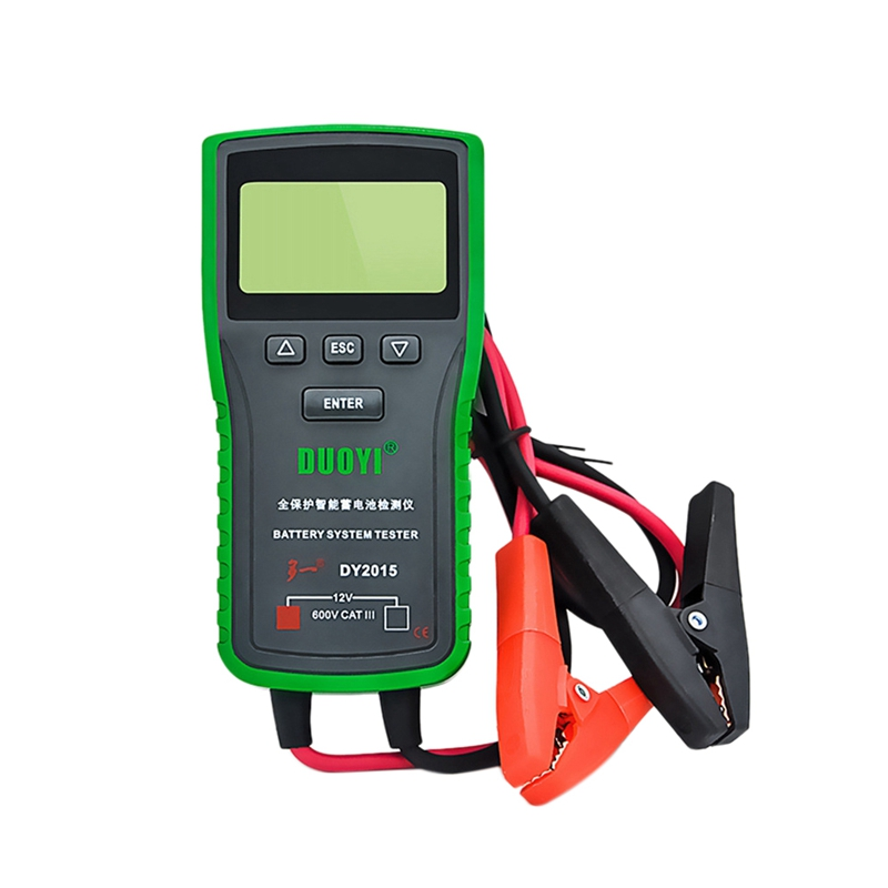 Dy2015 Car Battery Tester 12V Automatic Capacity Tester Discharge Charging System