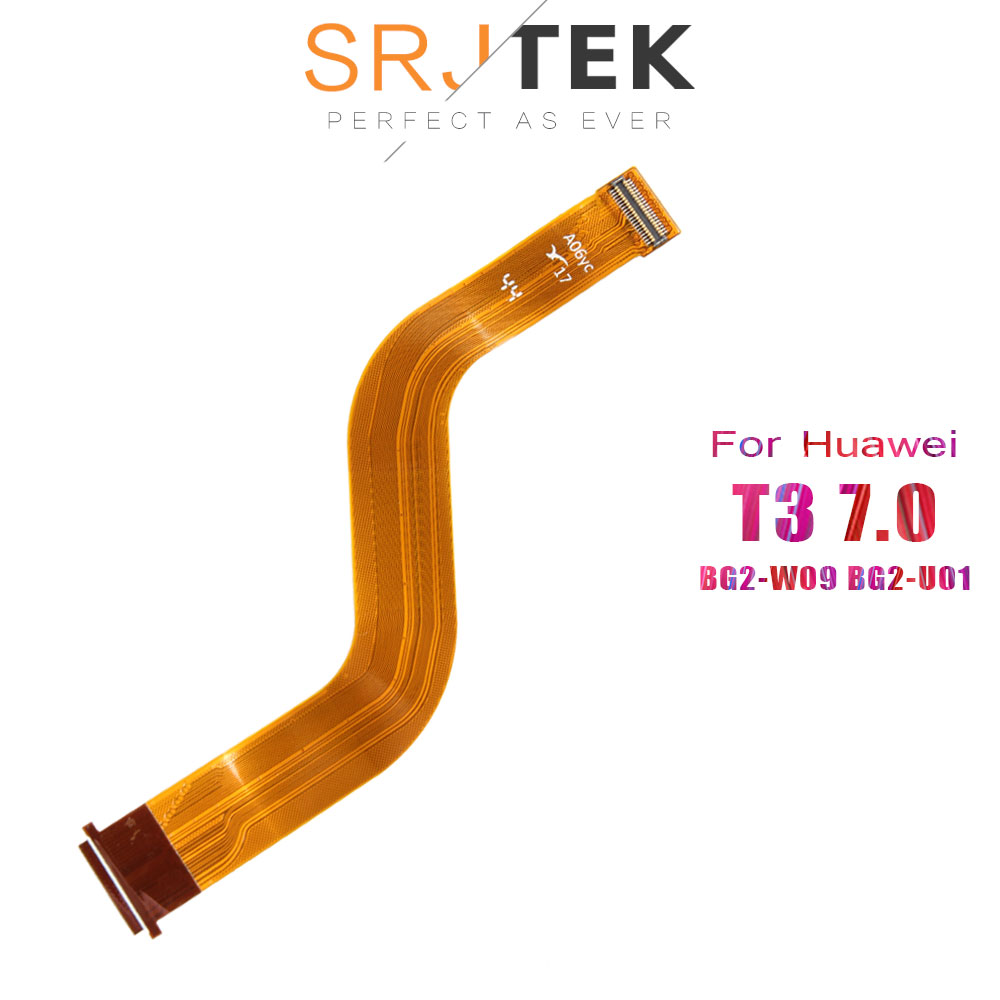 SRJTEK T3 LCD Flex Cable For Huawei MediaPad T3 7 7.0 BG2-W09 BG2-U01 BG2-U03 LCD Display Motherboard Connector 3G Wifi Version