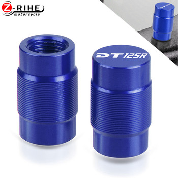 Motorcycle Vehicle Wheel Tire Valve Stem Caps Cover For YAMAHA DT125R DT 125 DT125 R 1999 2002 2000 1993 1994 1995 1996 97-2007