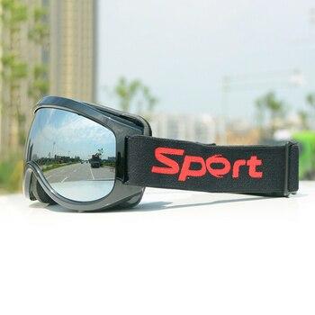 цена на professional ski goggles lens anti-fog UV400 ski glasses skiing men women snow goggles Safety Eye Protection Glasses Eyewear