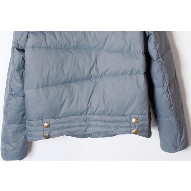SEDUTMO Winter Ultra Light Duck Down Coat Women Short Oversize Jackets Slim Autumn Puffer Jacket Pocket Parkas ED862 6