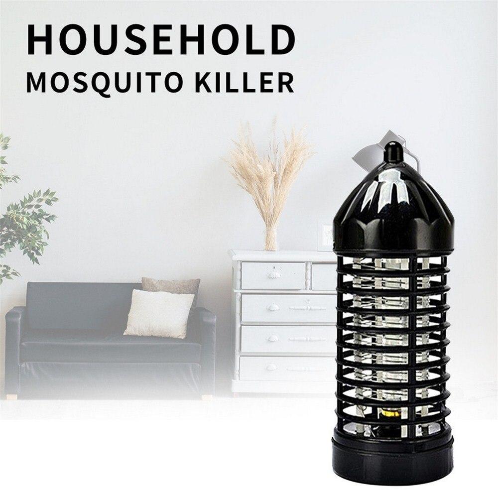 Électrique Anti mouches tueur LED moustique piège lampe mouche Bug insecte Zapper intérieur maison ravageur rejeter contrôle capteur lumière EU prise américaine