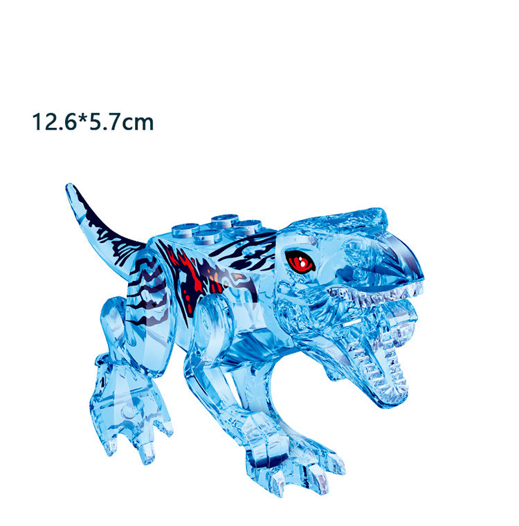 Jurassic World Park Raptor Dinosaurs Tyrannosaurus Rex Indominus Rex Dino Figures Building Blocks Bricks Toys For Children