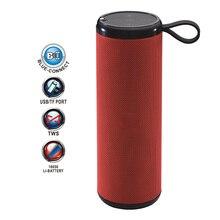 цена на NNS NS-S69 Portable Wireless Bluetooth Speaker Column LED Stereo Bass Boombox FM Radio Subwoofer TF AUX USB Surround Sound Box