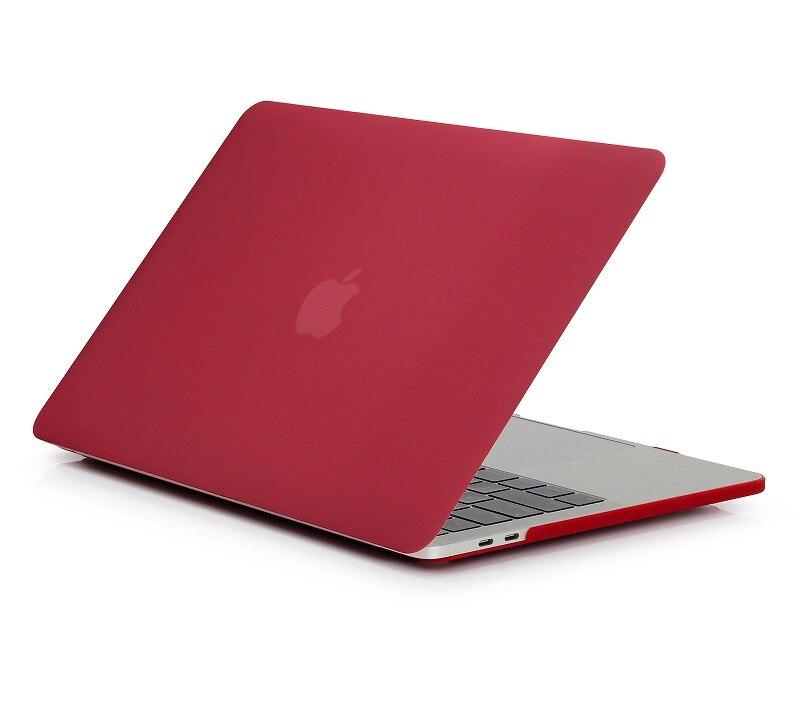 Новый Кристальный матовый чехол для Apple Macbook Air Pro Retina 11 12 13 15 16 дюймов, чехол для A1706 A2159 A1708 A2141 A1466 A1932 + подарок