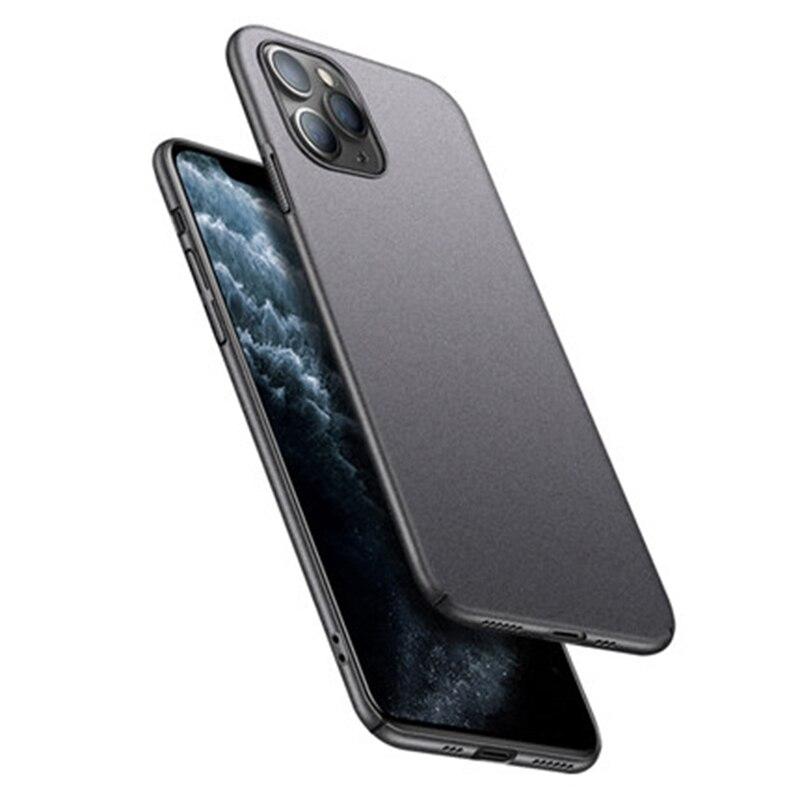 Slim Sandstone Full Cover Hard Matte Case For iPhone 12 mini