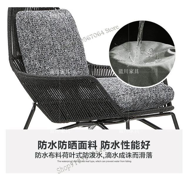 Outdoor Patio Leisure Rattan Chair 5